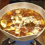 柚木元 - 熊と天然茸の鍋
