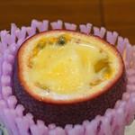 柚木元 - パッションフルーツとパッションフルーツのアイスクリーム