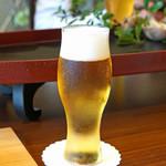 柚木元 - 生ビール