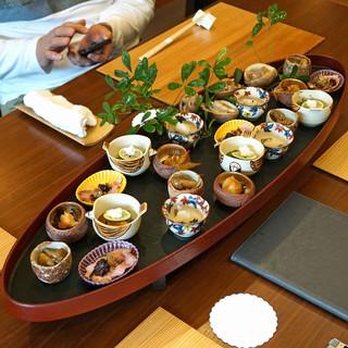 柚木元 - 料理写真:先付盛込