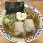 麺屋十郎兵衛 - 料理写真:10月限定  比内地鶏極太中華そば  880円