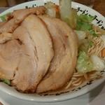 野郎ラーメン - 豚骨豚野郎(炒め)