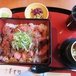 嵐山 喜重郎 - 和牛ステーキ重