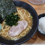94039701 - ラーメン並 太麺+小ライス