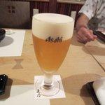 はかた天乃 - 久々に揃った元JCのメンバーで先ずはビールで乾杯です!