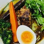 ルー&スープカレー ボナンザ - 【炙り角煮スープカレー】