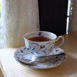 山手十番館 - ランチセットの紅茶