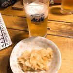 94041499 - ビールとお通し(生姜)