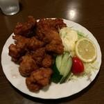 中華料理・喫茶 ちくりん - 鶏の唐揚げ