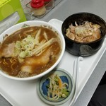 北山龍 - チャーシュー丼セット(醤油) 1000円