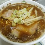 北山龍 - 醤油ラーメン 750円