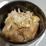 北山龍 - チャーシュー丼セット 250円