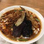 箸とレンゲ - マーボー麺セット1200円