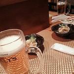 天 - ビールで乾杯~♪