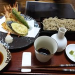 そば処 みやこ - 天ぷらセット