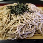 箱館山レストラン・第2ヒュッテ - 石うす挽きそば
