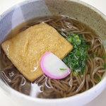箱館山レストラン・第2ヒュッテ - 料理写真:きつねそば