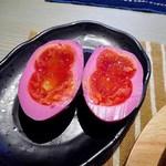 ozimaカレー+ - びっくり卵のトッピング