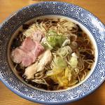 麺処 かつ善 - 料理写真:「淡麗 醤油そば」750円