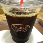 ブリオッシュ ドーレ - アイスコーヒー
