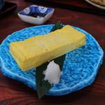 蕎麦割烹 黒帯 - 玉子焼き☆