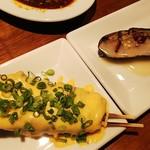 94060120 - 焼きなすび、味噌ダレとペペロンチーノ味