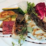 94060277 - 本日の鮮魚の香草焼き バルサミコソース