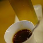 赤坂餃子バルGYOZA!365 - キノコのビネガー 自家製ラー油