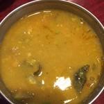 スパイス クラフト - サンバル豆感しっかり、しっかり辛い