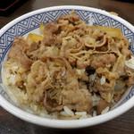 吉野家 - 牛丼 並380円