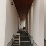 cafe 木蓮 - 入り口