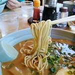 94067904 - カタメで頼んだストレート麺(´౿`)♡