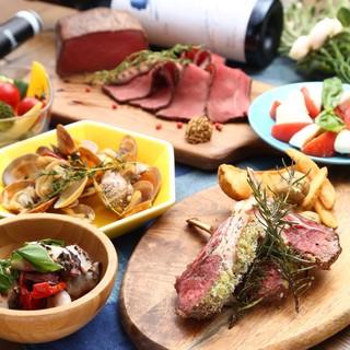 厳選お肉を使用したフレンチベースのコース料理☆