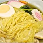 94071741 - この麺の風味もまた昭和。