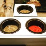 ディーステーキ - ☆付け合せのソース