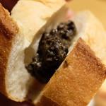 東京オーブン - アンチョビとオリーブのペーストのタプナード