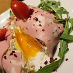 東京オーブン - 中から,とろーりとタマゴの「ポテサラ?」