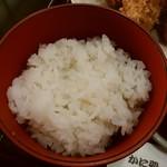 かに猿 - お米も美味しい♪