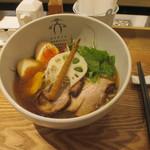 94073412 - 「淡麗醤油」(850円)+「味玉」(100円)