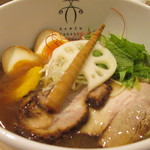94073414 - 「淡麗醤油」(850円)+「味玉」(100円)