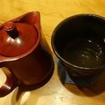 94079707 - 蕎麦焼酎 八重櫻 そば湯割り650円