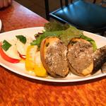 ココ・ゴローゾ - 前菜4種 秋刀魚のコンセルヴァート・カボチャのスフォルマート・レバーペースト・カプレーゼ 1,200円