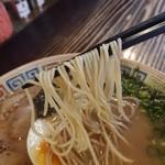 94082633 - 中細ストレート麺。