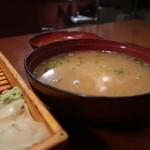 寿しやの台所 - 味噌汁
