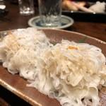 七伍屋 - 自家製菊花しゅうまい460円