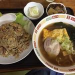 香娘めん - 料理写真:ミニラーメンとチャーハンセット650円