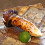 柳家 - 松茸の炭火のタレ焼