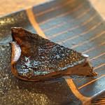 柳家 - 老茸(クロカワ)の炭火のタレ焼