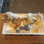 柳家 - 天然茸の天ぷら