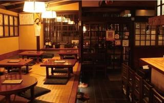 おでん三吉 - (1階)カウンター・座敷席